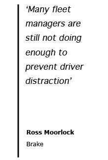 Brake Quotes Brilliant Fleets Must Crackdown On Driver Distraction  Brake